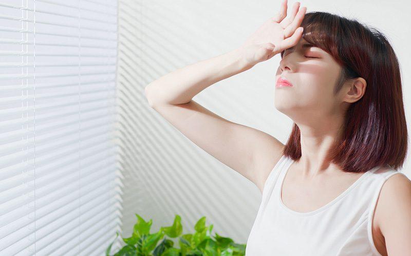紫外線と女性